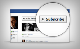 Facebook To Launch Subscribe Button for Websites