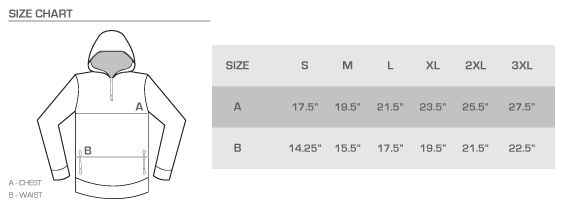 yoga pants size chart