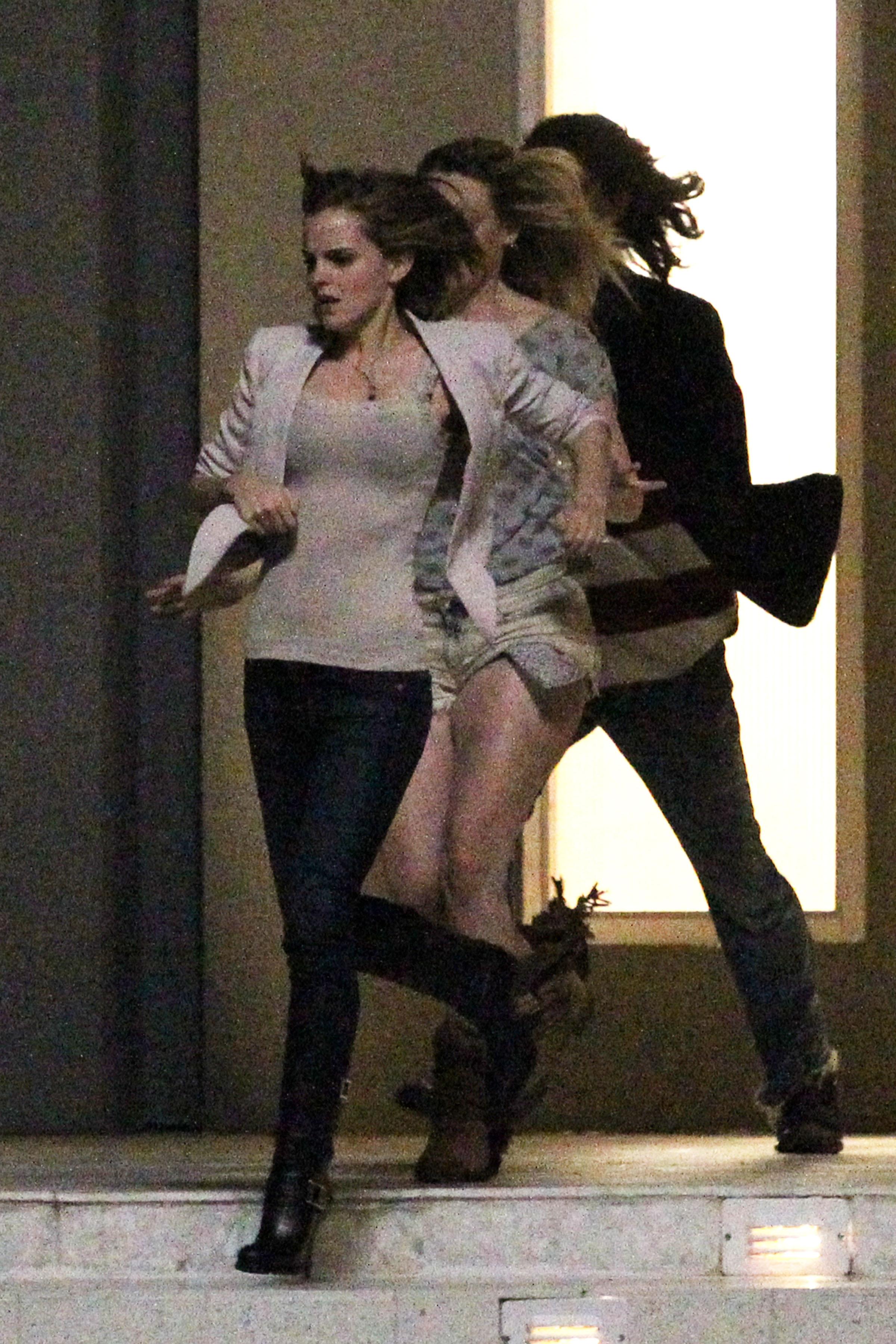 On Set — Totally Emma Watson эмма уотсон