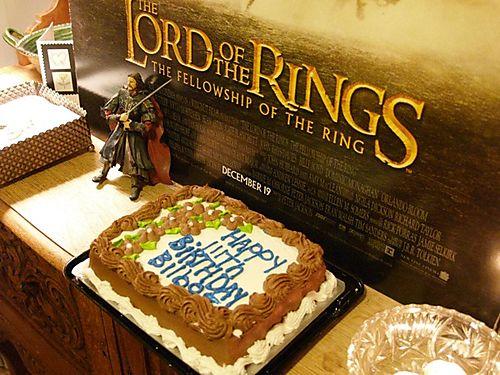 Bilbo's cake