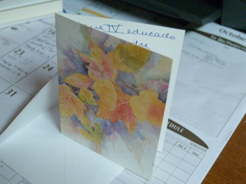 Card from Luza