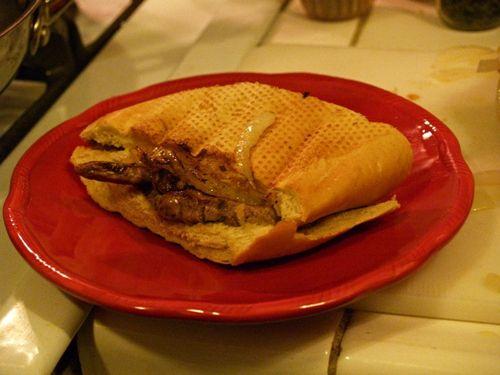 Cuban Pan con Bistec