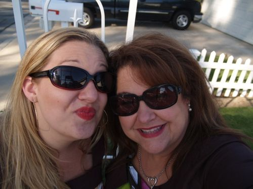 Amy & mom
