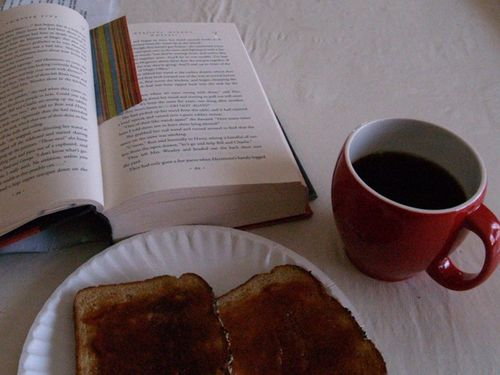 Day toast & book