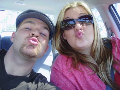 Amy adam kissy faces