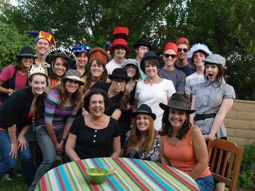 Hat people