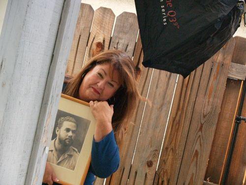 Photo shoot w papi