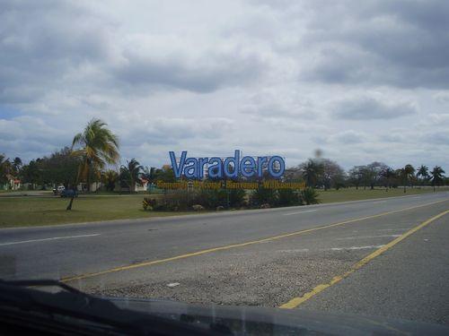 Varadero Sign