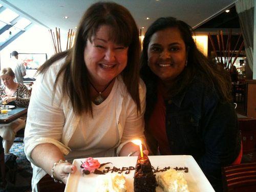 Modernmami birthday cake