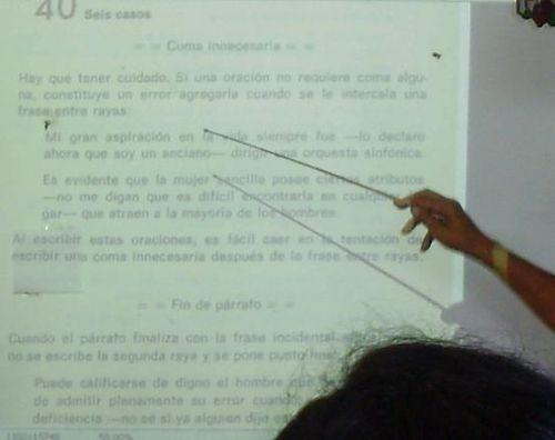 Ecu punctuation class in cuba