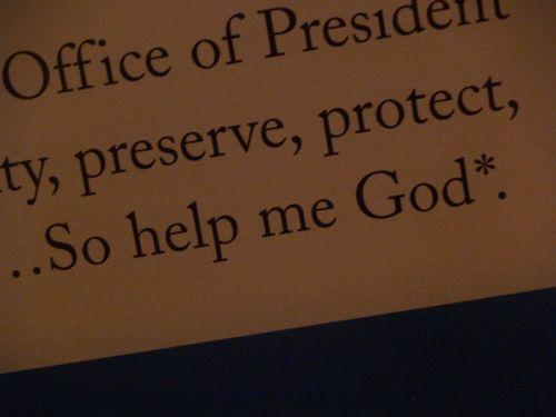 Presidential oath