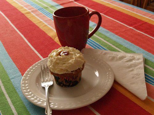 Cupcake & coffee
