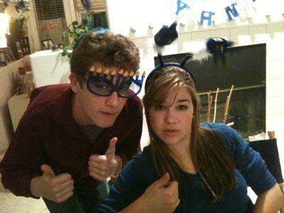 Jon & Lucy menorah-head
