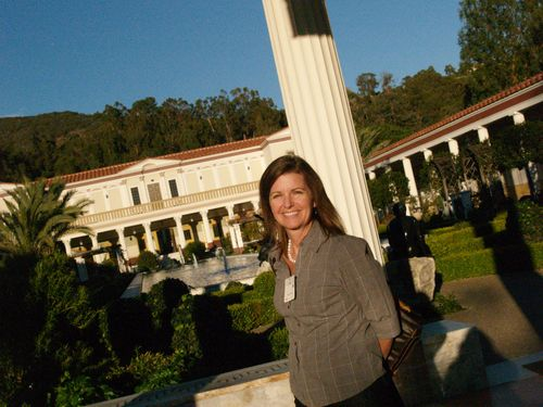 Jana at the Villa