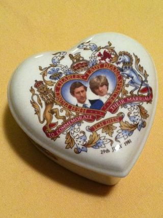 Charles and Diana royal box