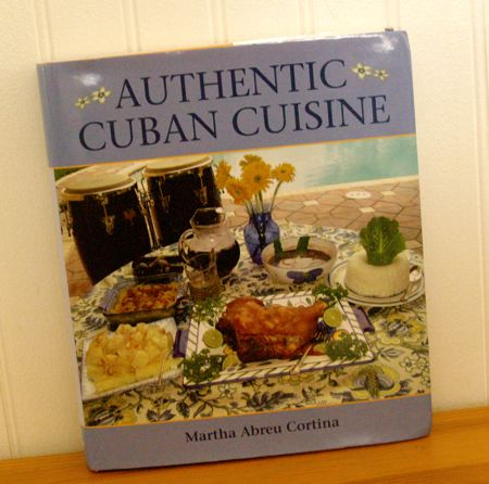 Cuban cookbook