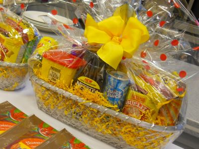 Nestle goodie basket