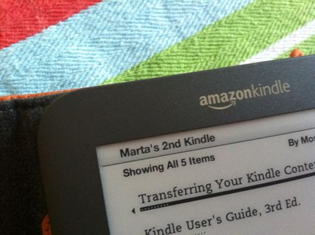 Marta's Kindle