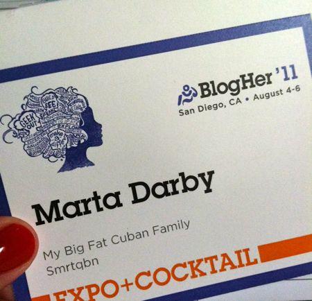 Blogher badge