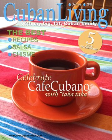 Cuban Living Magazine Cover for MBFCF