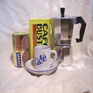 Cuban Coffee Basket
