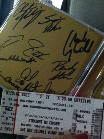 Autographed CD Straight No Chaser