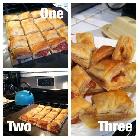 Cuban guava pastries