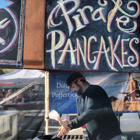 Today pirate pancakes