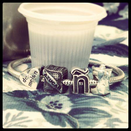 Santayana charm bracelet