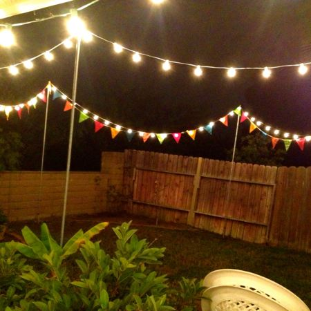 Party lights & flags