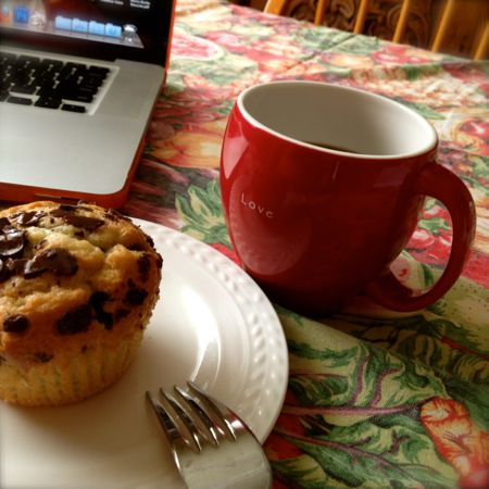 Muffin & coffee