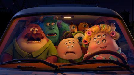 Monsters in car