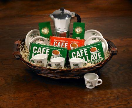 Cafe la llave basket