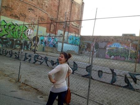 Lucy & graffiti