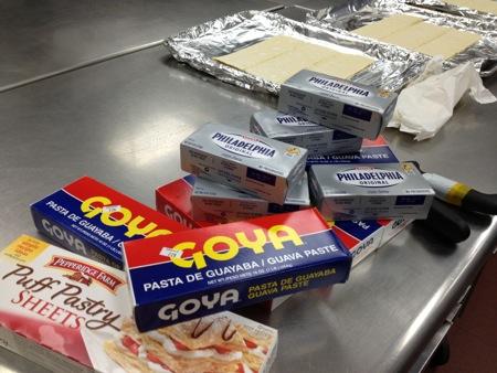 Pastelito ingredients