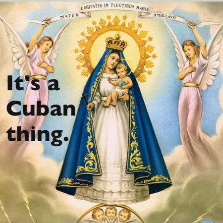 Cachita it's a cuban thing
