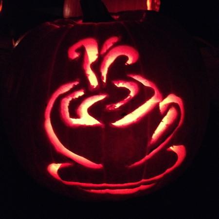 Cafe pumpkin
