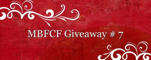 MBFCF Giveaways