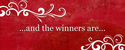 MBFCF Giveaway winners