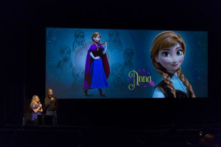 Directors of Frozen with Anna