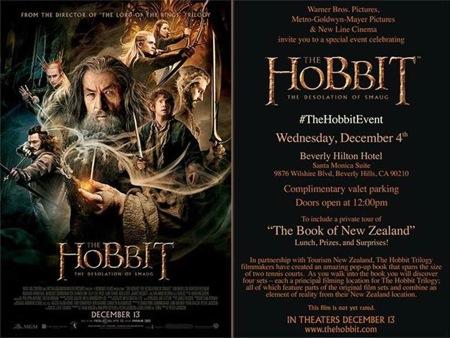 The Hobbit invitation