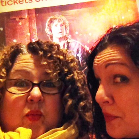 Amy & me at the hobbit