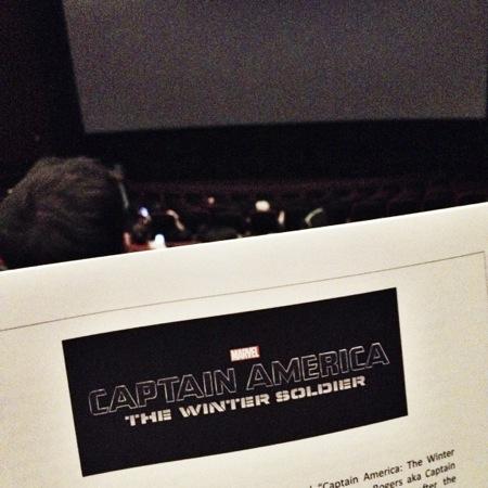 Captain america screening