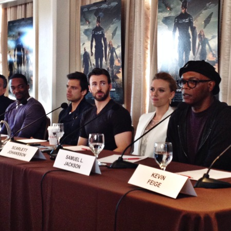Cast of captain america winter soldier