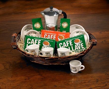 Gavina Coffee Gift Basket my big fat cuban family