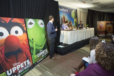 Muppets Most Wanted director producer song writer