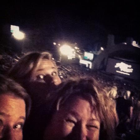 Grease sing along at the Hollywood Bowl