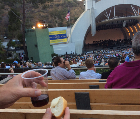 Wine-and-cheese-Hollywood-Bowl