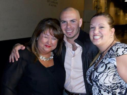 Marta and Pitbull