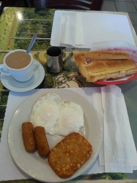 Amy's breakfast